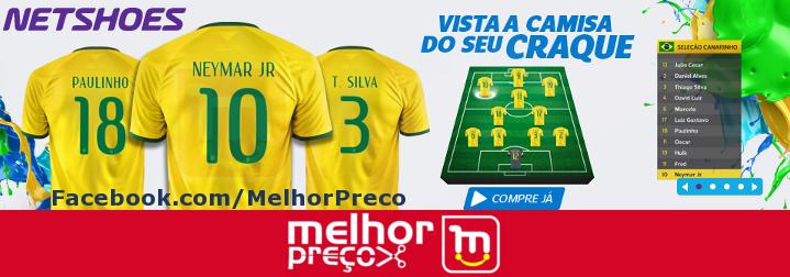 7e47a00c99  NETSHOES  Novas Camisas Nike Seleção Brasil Com 12% de Desconto!!!