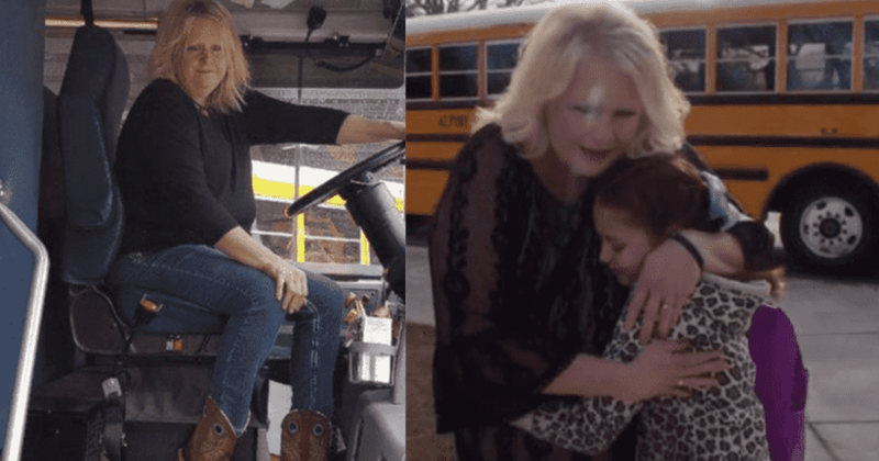 Kind Bus Driver Braids Little Girl's Hair Each Morning After She Lost Her Mother