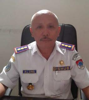 Kepala Dishubkominfo Boltim, MR Alung
