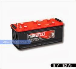 mutlu akü ağır hizmet serisi 12 volt 120 amper