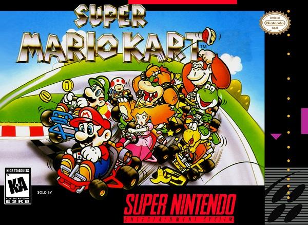 Super Mario Kart - Portada