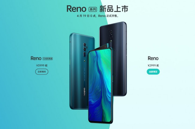 oppo Launches 32 Megapixel Selfie Shooter with New Oppo Reno