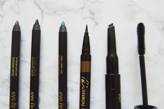 Eye of Horus Review Eyeliner, Mascara and Brow Pencil