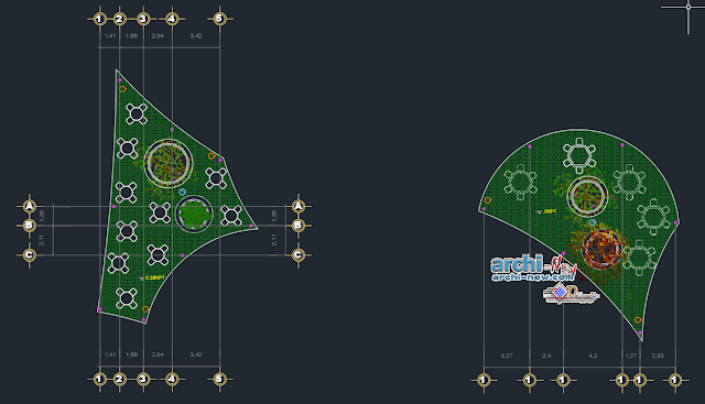 Recreational Space Station in AutoCAD