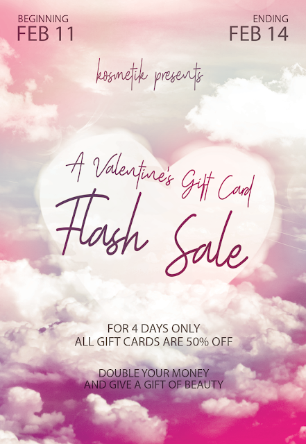 .kosmetik Valentine's Day Gift Card Flash Sale