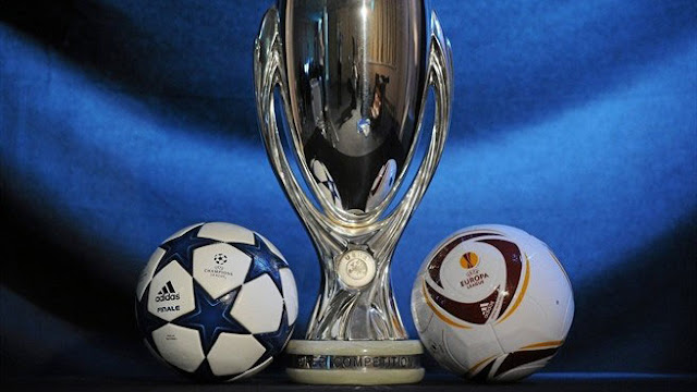 UEFA Super Cup Trophy arrives in Macedonian capital