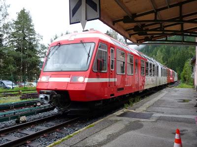 シャモニー渓谷でモンブラン・エクスプレス Mont-Blanc Expressの旅