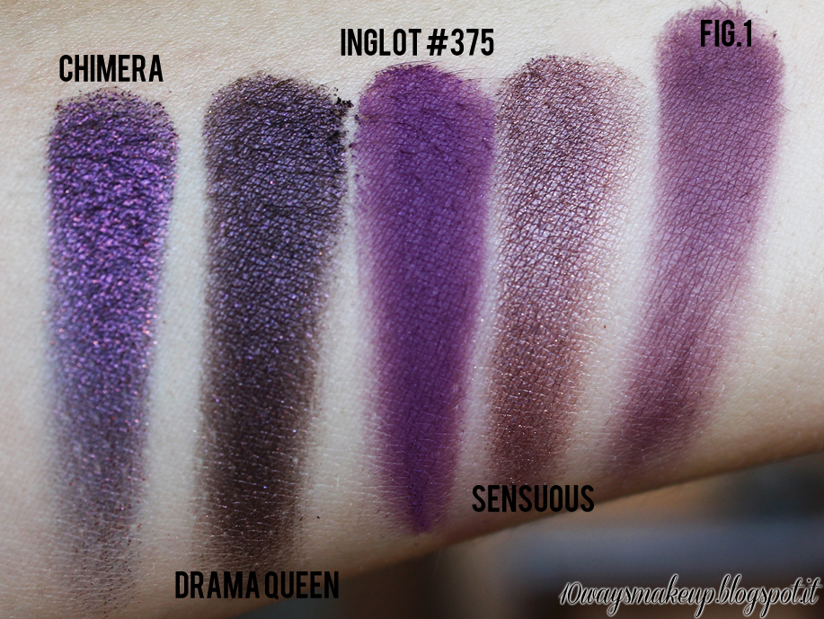 neve cosmetics duochrome chimera swatch