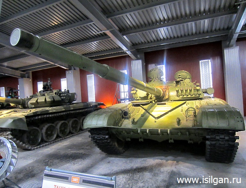 Музей бронетанковой техники. Город Нижний Тагил. Свердловская область