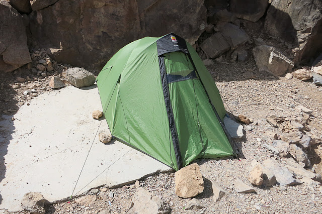Divje kampiranje, izbira varne lokacije, Oman