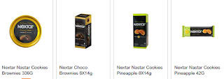 Harga Nextar Nastar Cokies dan Nextar Choco Brownies