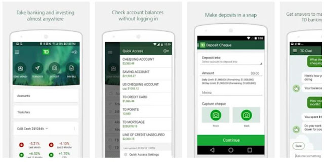Download & Install TD Canada Mobile App