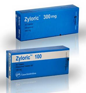 دواء zyloric ومادته الفعاله Allopurinol لمعالجة مرض النقرس