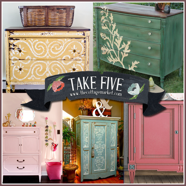 Beautiful Hand Painted Furniture The Cottage Market