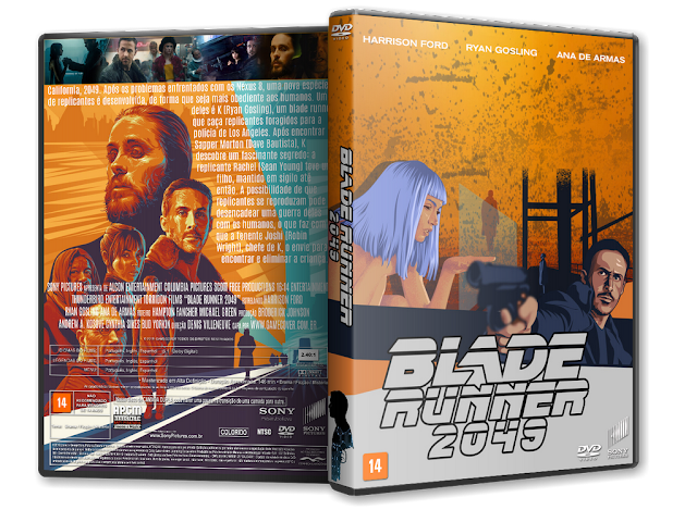 Capa DVD Blade Runner 2049 [Exclusiva]