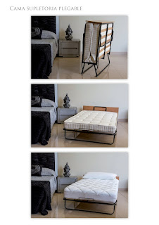 cama supletoria plegable