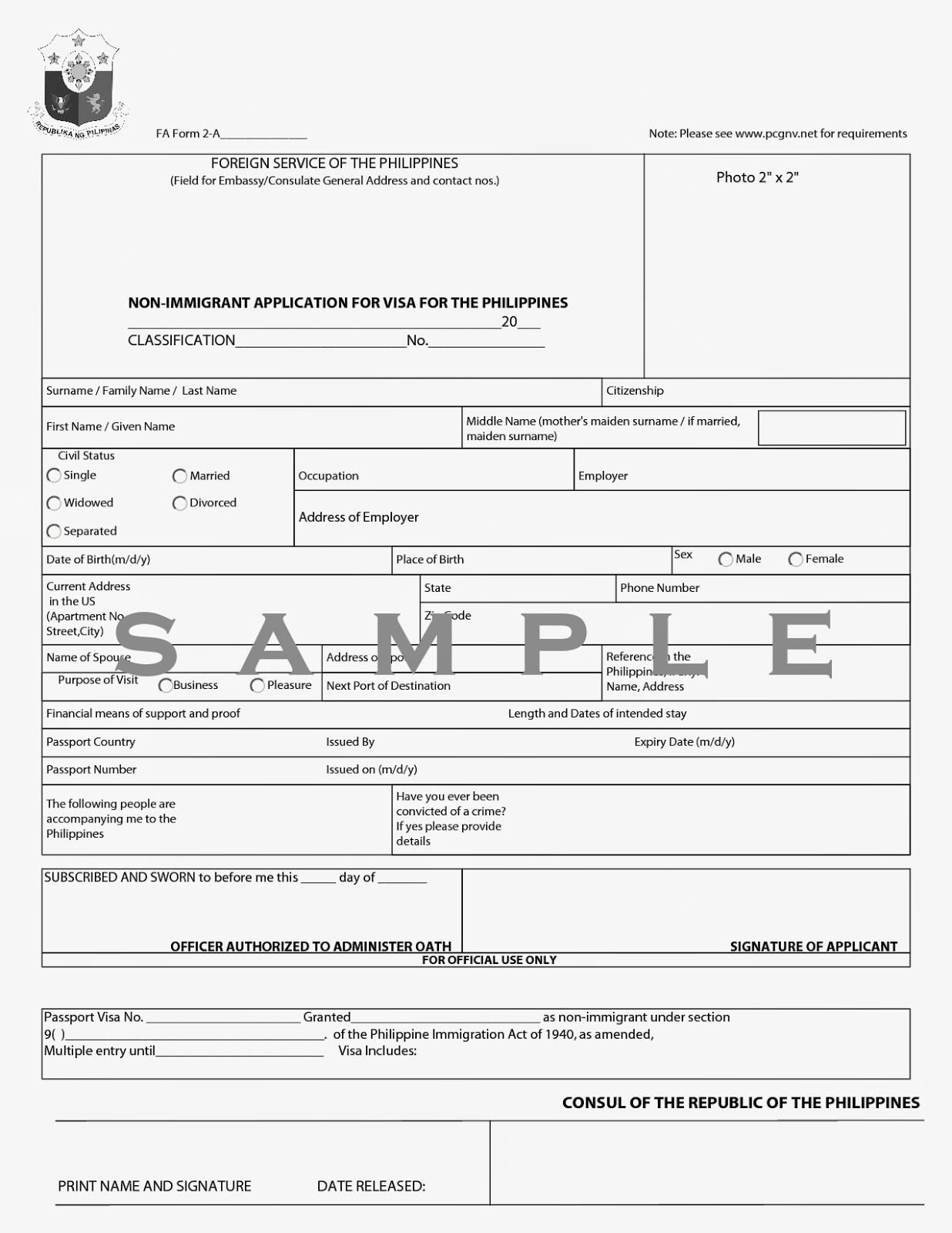 Us Visa Application For Minors In Philippines