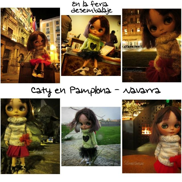 Caty en Pamplona, Navarra