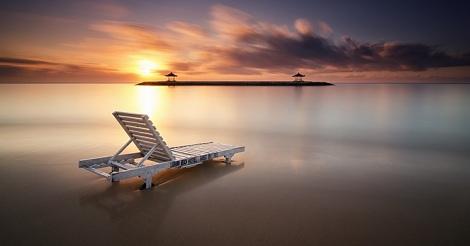 Menikmati Sunrise di Bali