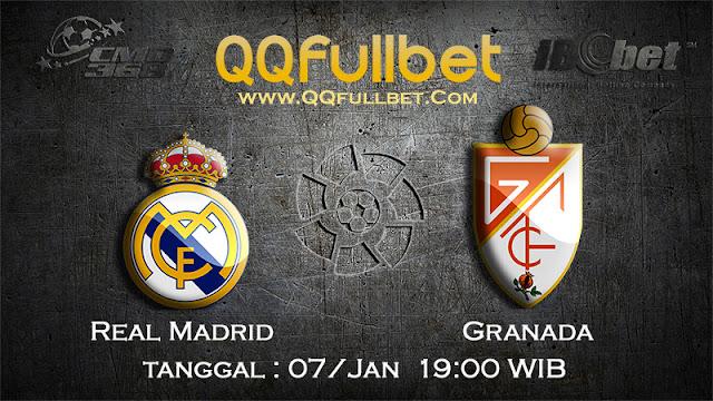 PREDIKSIBOLA - Prediksi Taruhan Bola Real Madrid vs Granada 07 Januari 2017 (La Liga Spanyol)