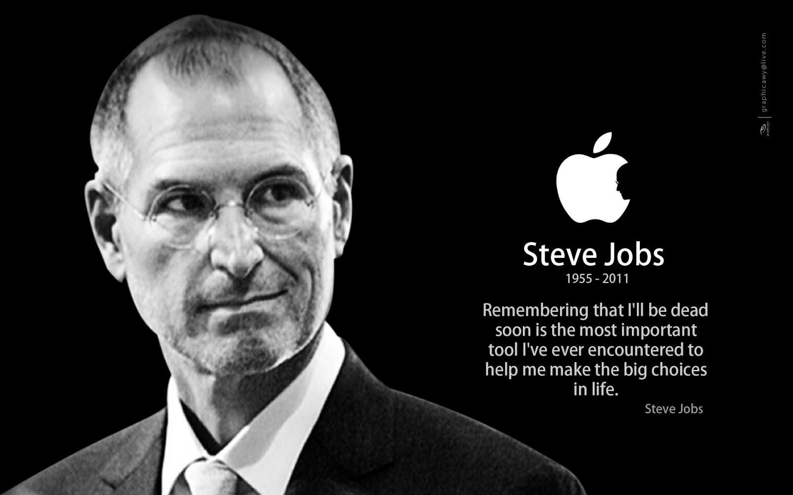 7 câu nói của Steve Jobs có thể thay đổi sự nghiệp của bạn