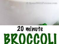20 Minute Broccoli Cheese Soup Recipe