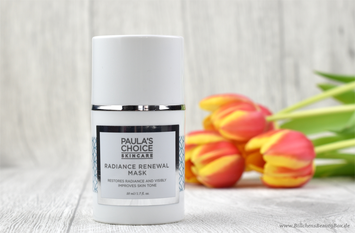 Paula's Choice - Radiance Renewal Maske - Review und Erfahrung