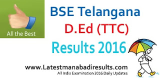 TS D.Ed 1st year result 2015, Manabadi D.Ed TTC first year result 2015, Schools9 D.Ed 1st year Nov 2015 result district wise