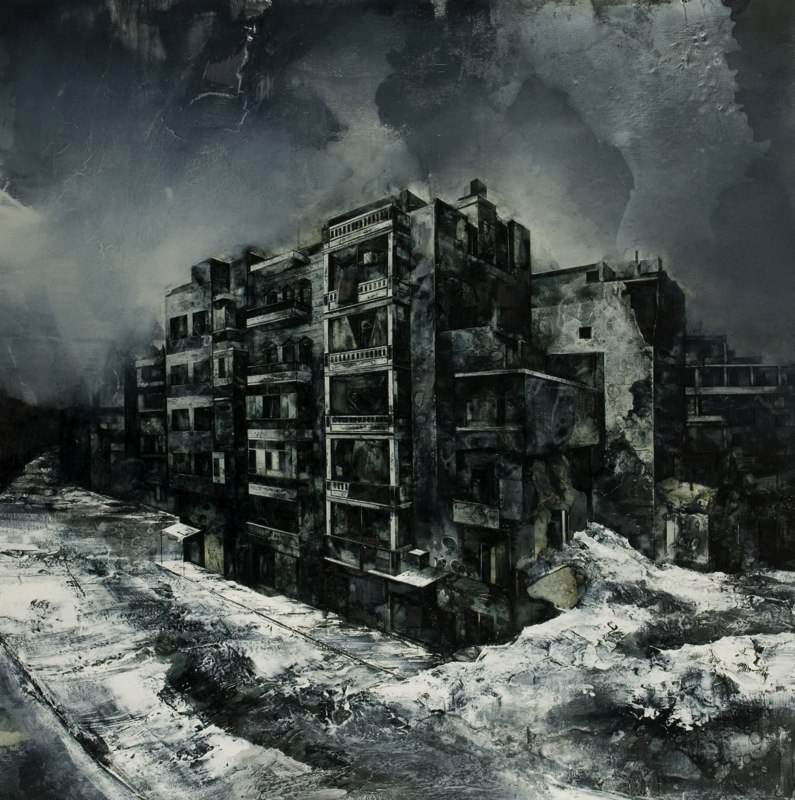 03-For-All-the-Days-Stolen-Mark-Thompson-Austere-and-Desolate-Cityscapes-Paintings-www-designstack-co