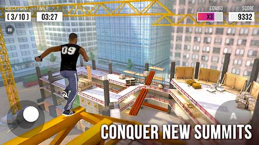 parkour simulator 3d gameplay
