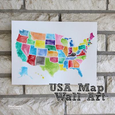 http://www.doodlecraftblog.com/2015/07/usa-watercolor-wall-art-using-frisket.html