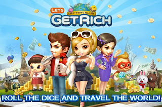 Free download official game LINE Let's Get Rich .APK FUll + Data