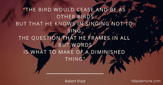 Robert Frost Short Poems-The Oven Bird