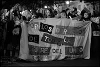 pancarta,valencia,dia,mujer,trabajadora,feminista