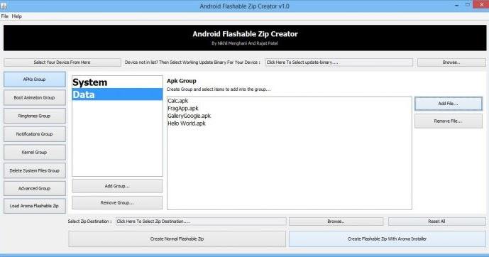 Free Download Android Flashable ZIP Creator,Backup Aplikasi