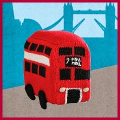 Autobus ingles de punto