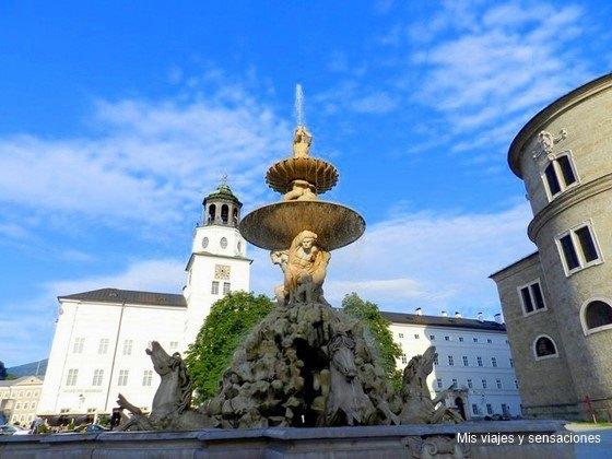 Plaza de la Residencia, Residenzplatz, Salzburgo, Austria