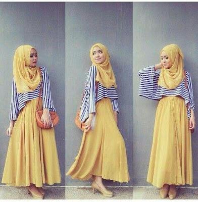 Model Hijab Terbaru Modern Kekinian