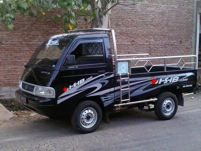 Modifikasi Stiker Mobil Carry Pick Up >> Modifikasi Stiker Mobil Pick Up Blog Otomotif Keren
