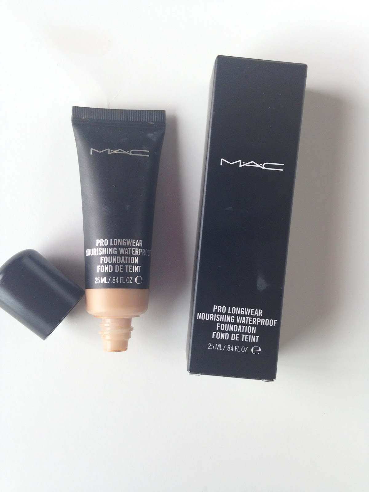 Pro Foundation Mixers By Nyx Professional Makeup: Makeup Check: MAC: Pro Longwear Nourishing Waterproof
