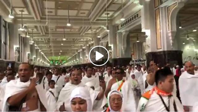 Viral Video Banser Teriakkan Yel-yel Ini Ketika Sa'i, Yakut Cholil Qoumas Dianggap Gagal Mendidik Adab/Etika Beribadah Anak Buahnya