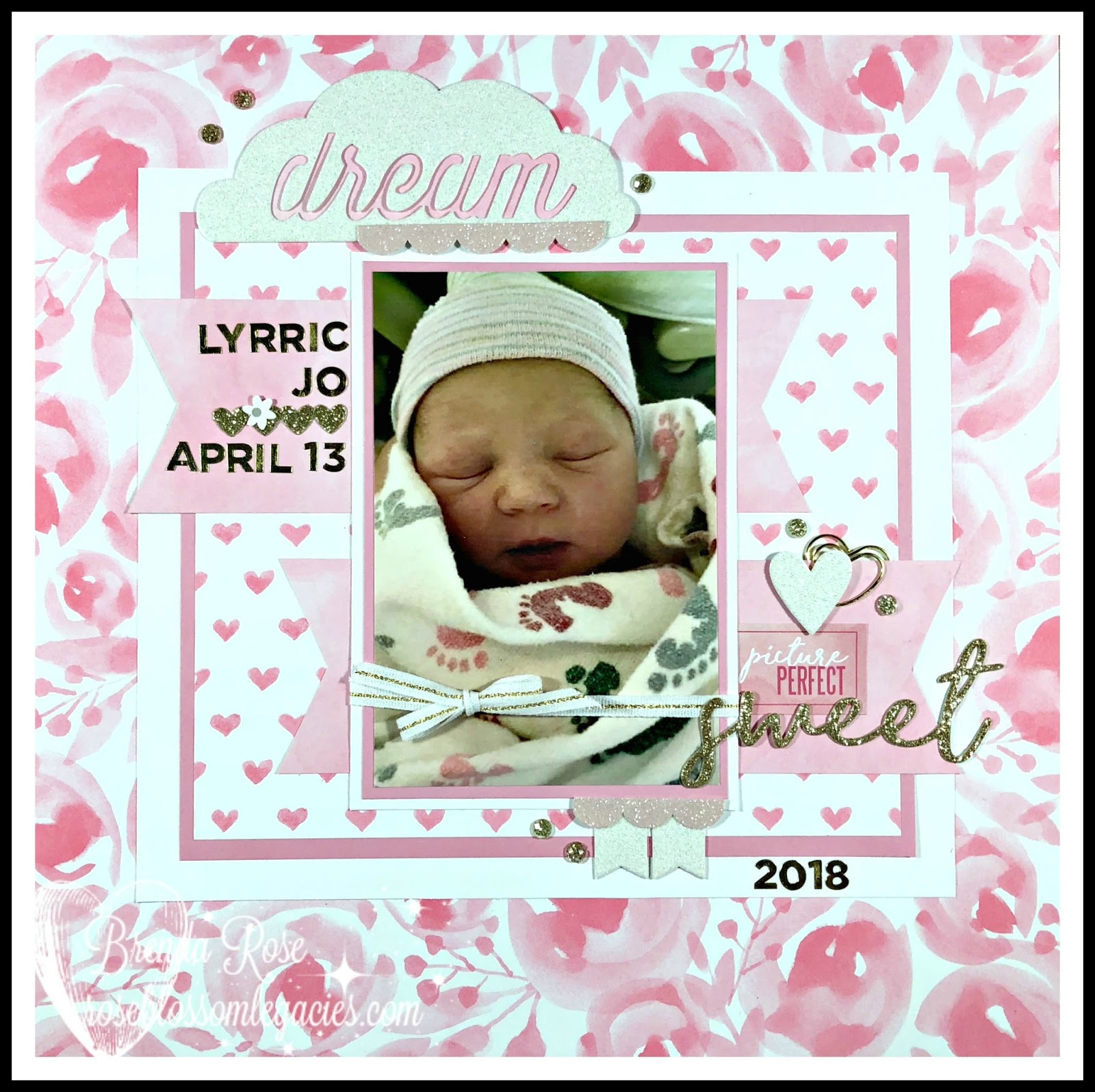rose blossom legacies a new baby girl means lot of pink
