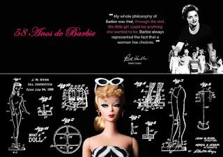 Trajetória da Barbie