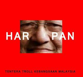 "Logo ""HIDUNG MAHATHIR"" Jadi Sindiran Netizen #DAP"