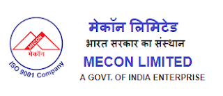 MECON Recruitment  2018 November