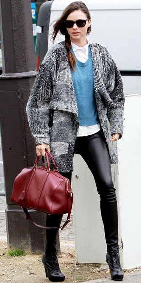 Street Style Celebrities Miranda Kerr