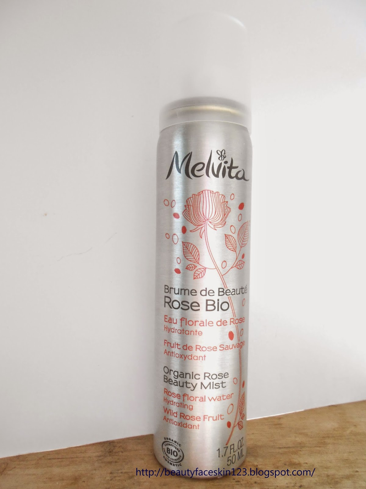 MELVITA ORGANIC ROSE BEAUTY MIST
