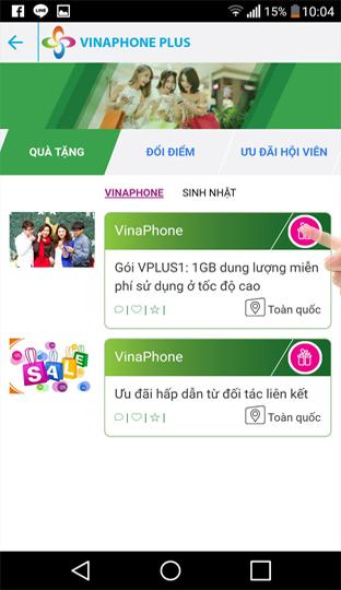 Nhận 1GB data tốc độ cao miễn phí từ vinaphone - vinaphone plus - kiemthecao.com