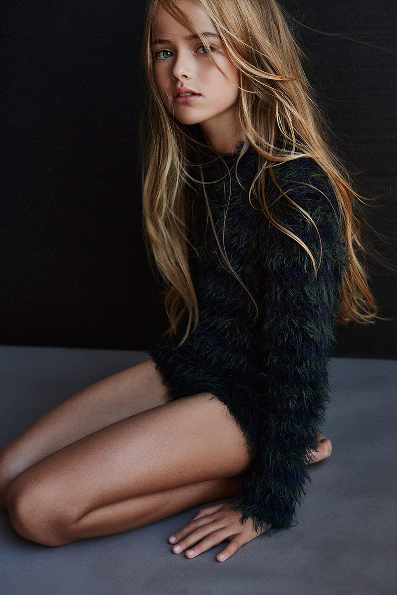 At the age of 10, Kristina Pimenova
