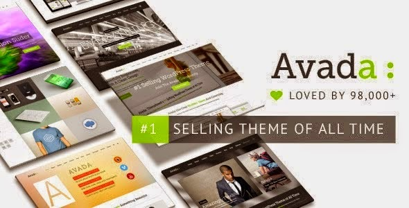 Avada PSD WordPress Theme